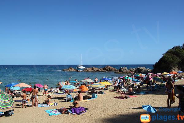 Plus belle plage de Lloret de Mar