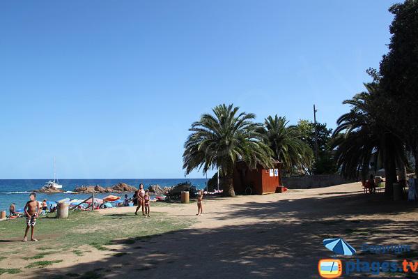 Espace de jeux pour les enfants - Plage de Lloret de Mar - Santa Christina