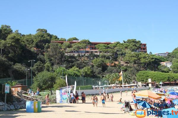 Sports autour de la plage de Santa Christina - Lloret de Mar