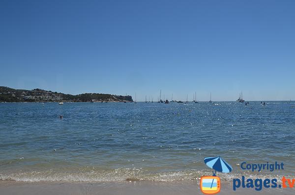Cap Martinet depuis la plage de Talamaca à Ibiza