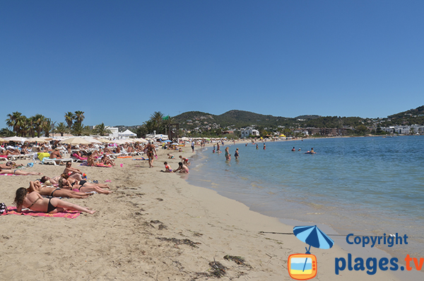 Plage de Talamaca à Ibiza