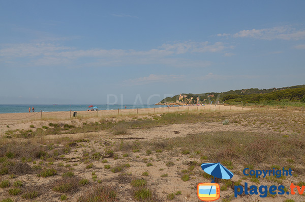 Photo de la plage de Tamarit - Tarragone