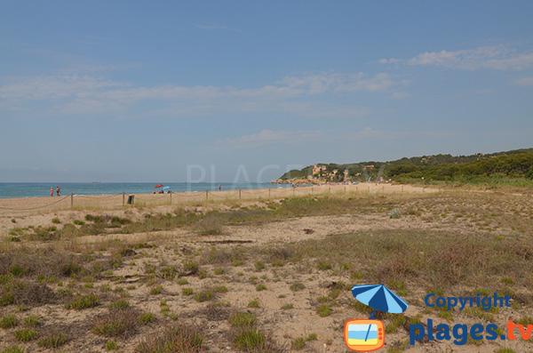 Photo de la plage de Tamarit - Tarragone