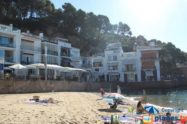 Location de vacances à Tamariu en bord de plage - Palafrugell