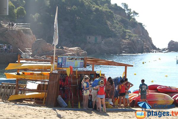 Club de voile à Tamariu - Espagne