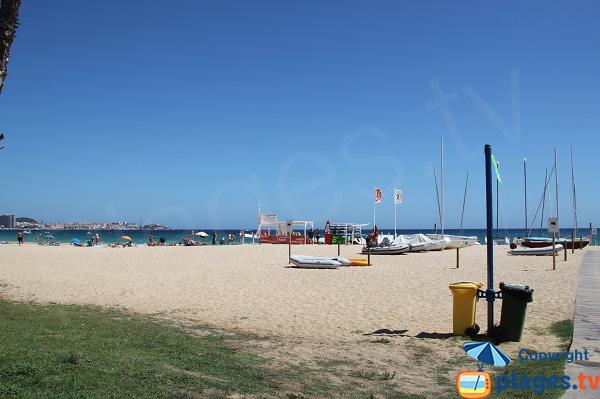 Location de bateaux sur la plage de Sant Antoni de Calonge