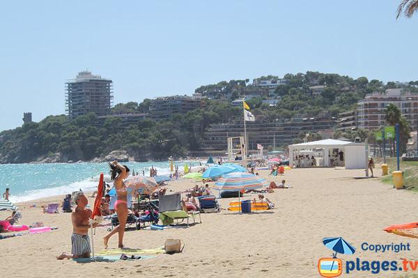 Photo de la plage de Torre Valentina à Sant Antoni de Calonge - Espagne