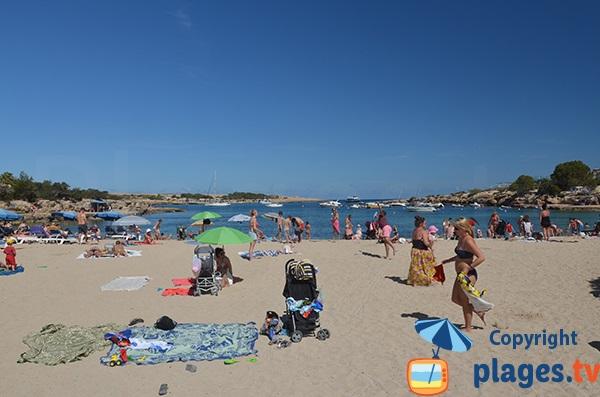 Plage du Torrent à Sant Josep de sa Talaia - Ibiza