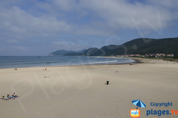 Photo de la plage de Trengandin à Noja - Espagne