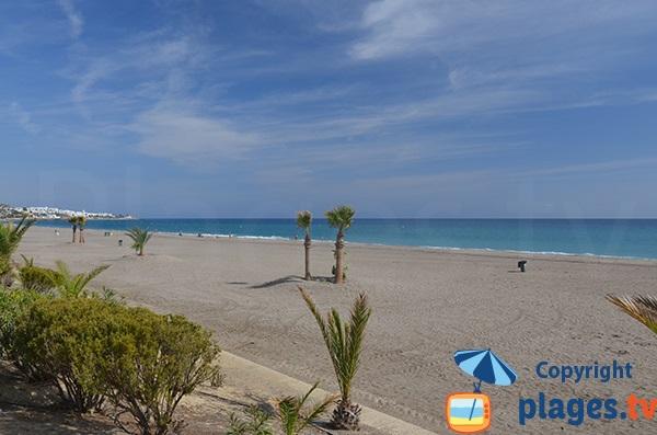 Plage sud de Mojacar - Andalousie - Espagne