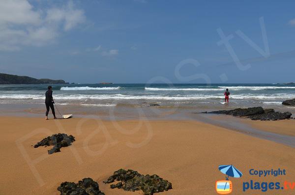 Spot de surf à proximité de Gijon - Verdigio