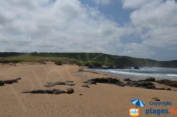 Photo de la plage de Verdicio en Espagne - Asturies
