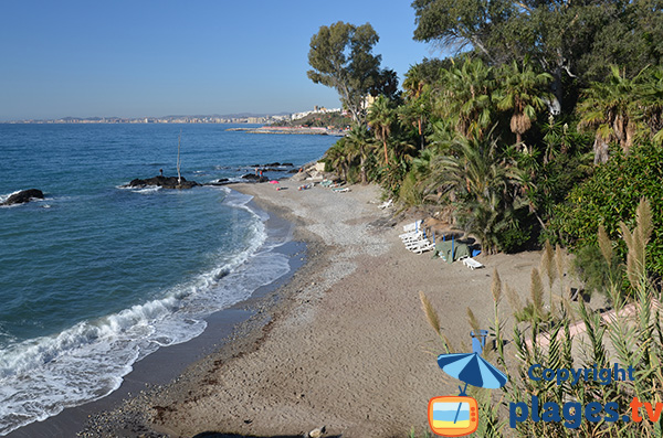 Photo de la plage de Viborilla à Benalmadena - Espagne
