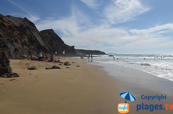 Plage de Viego Rey à La Pared - Fuerteventura - Canaries