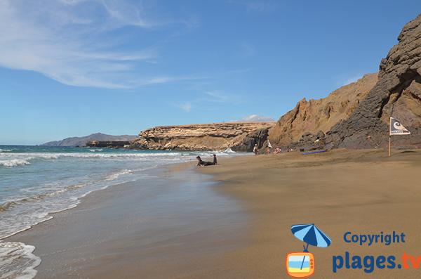 Crique de la Pared à Fuerteventura