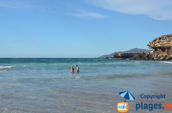Baignade à La Pared - Fuerteventura