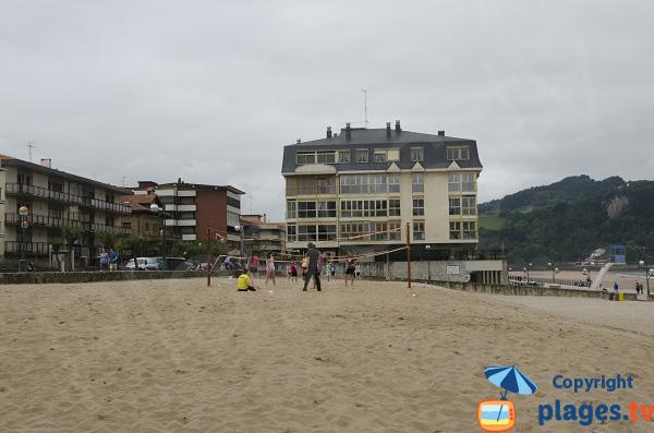Volley sur la plage de Zarautz
