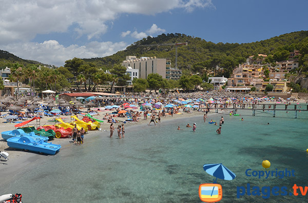 Platja Camp de Mar à Majorque - Espagne