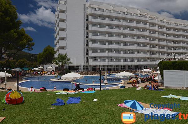 Complexe touristique à Camp de Mar à Majorque