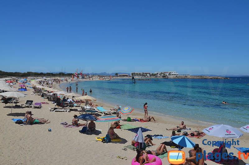 Es Pujols et sa plage du centre - Formentera