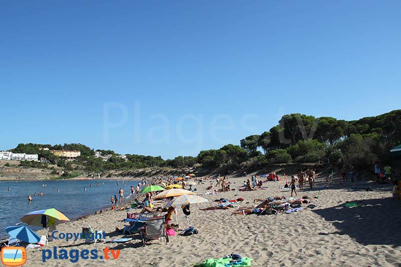 Platja Rec del Moli en Espagne sur la Costa Brava