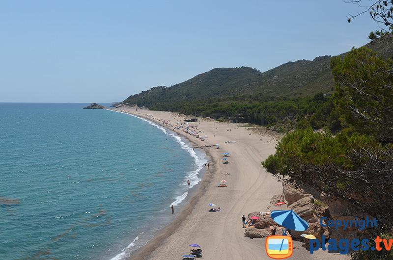 Platja del Torn - la plage naturiste la plus connue d'Espagne