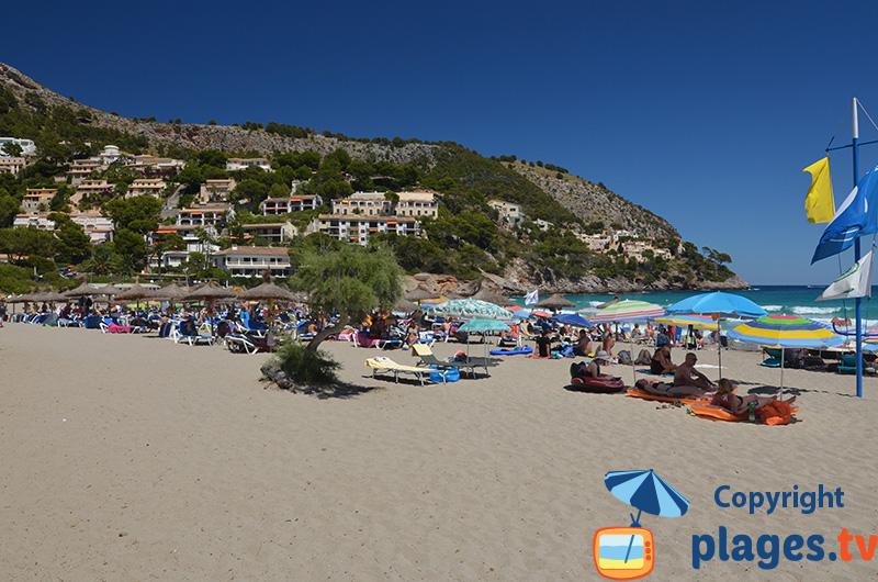 Playa de Canyamel à Majorque