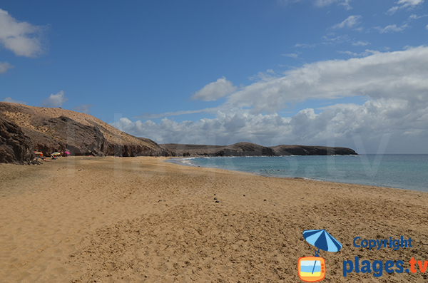 Photo de la plage de Congrio à Lanzarote