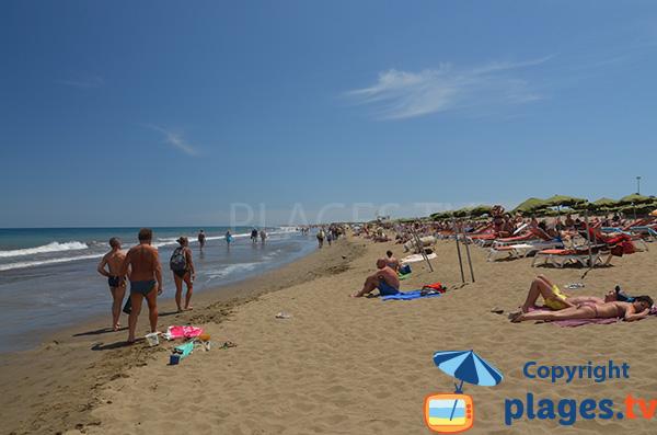Plus belle plage de Grande Canarie en Espagne - Playa del Ingles