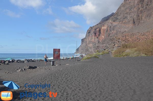 Environnement de la Playa del Inglés à Valley Gran Rey
