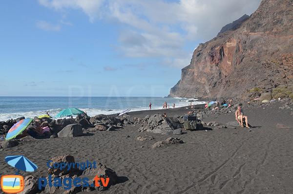 Photo de la Playa del Ingles à La Gomera - Valle Gran Rey