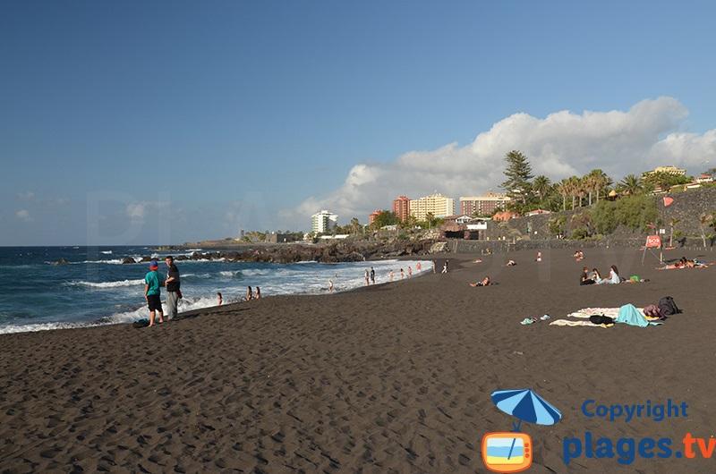 Playa Jardin à Puerto de la Cruz - Tenerife
