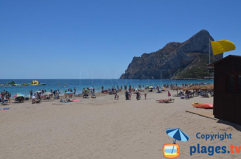 Playa Levante - Calpe