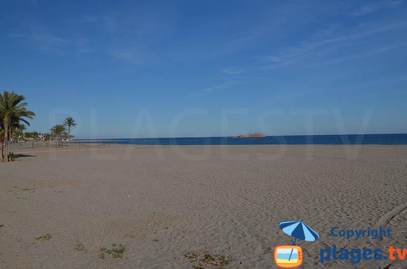 Playa de Los barquicos à Carboneras