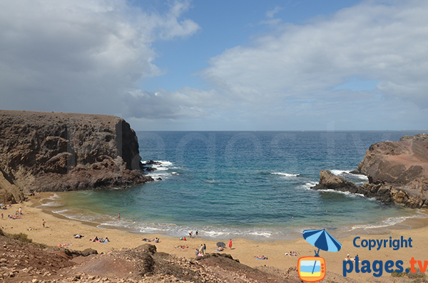 Playa de Papagayo - Iles Canaries