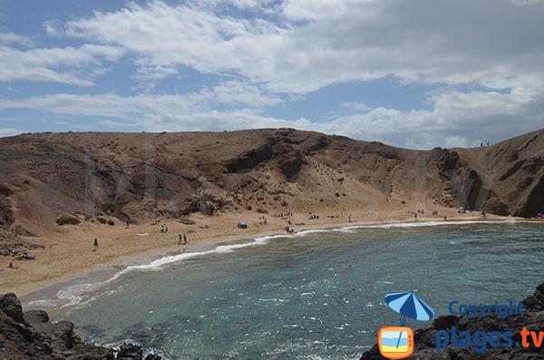 Plus belle plage de Lanzarote