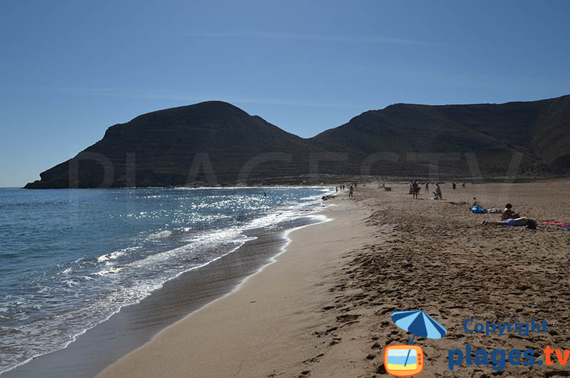 Grande plage de Rodalquilar