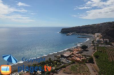 Playa de Santiago sur l'ile de Gomera - Iles Canaries