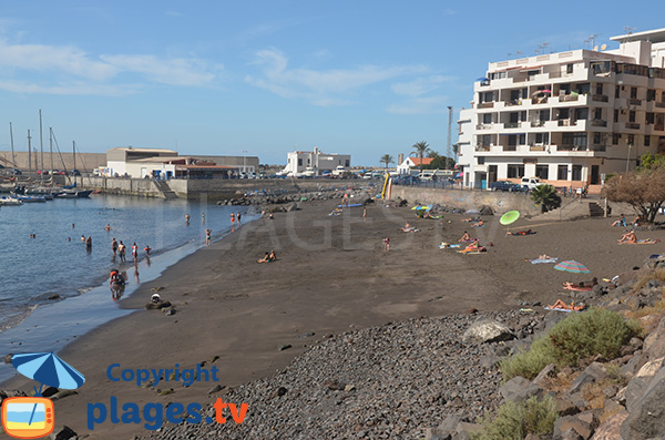 Belle plage à Valle Gran Rey - Gomera