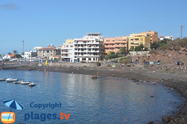 Plage Vueltas Valle Gran Rey à la Gomera - Iles Canaries
