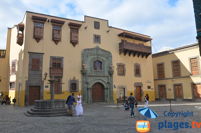Plaza del Pilar Nuevo à Las Palmas