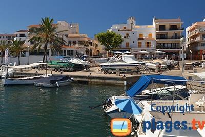 Port de Cala Rajada à Majorque