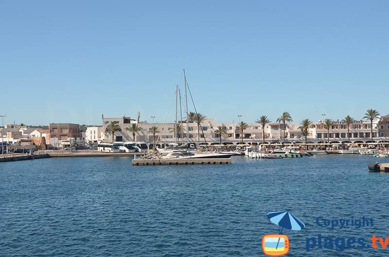 Port La Savina à Formentera