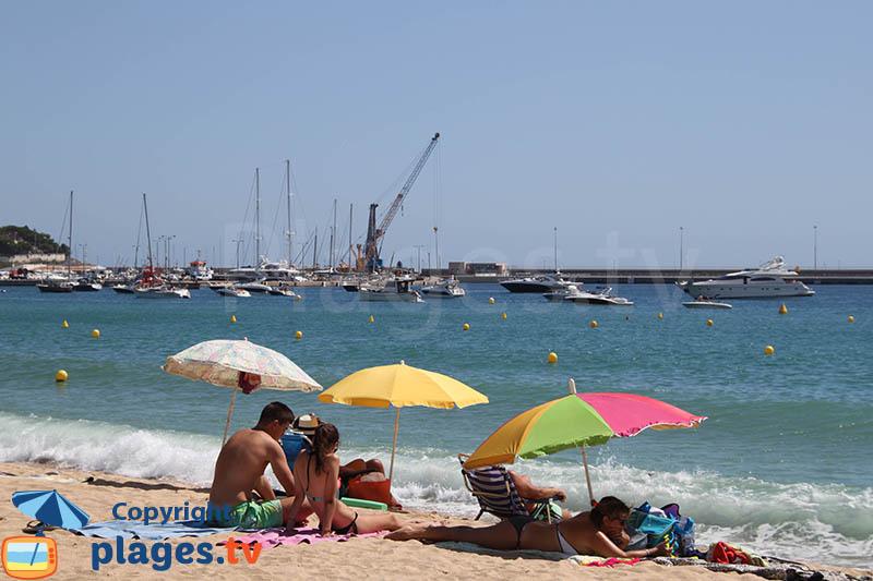 Port et plage de Palamos - Espagne