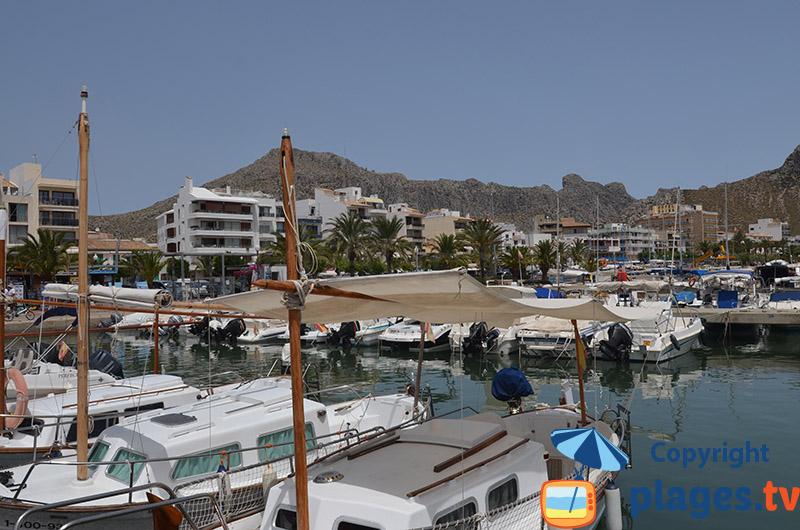 Port de Port-Pollenca - nord de Majorque