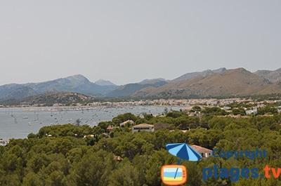 Port de Pollença sur l'ile de Majorque - Baléares