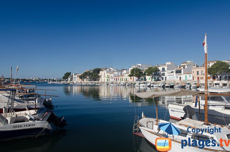 Port de Portocolom à Majorque