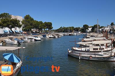 Port de Portopetro à Majorque