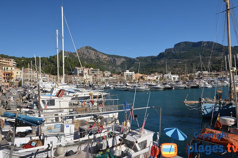 Port de Port-Soller à Majorque