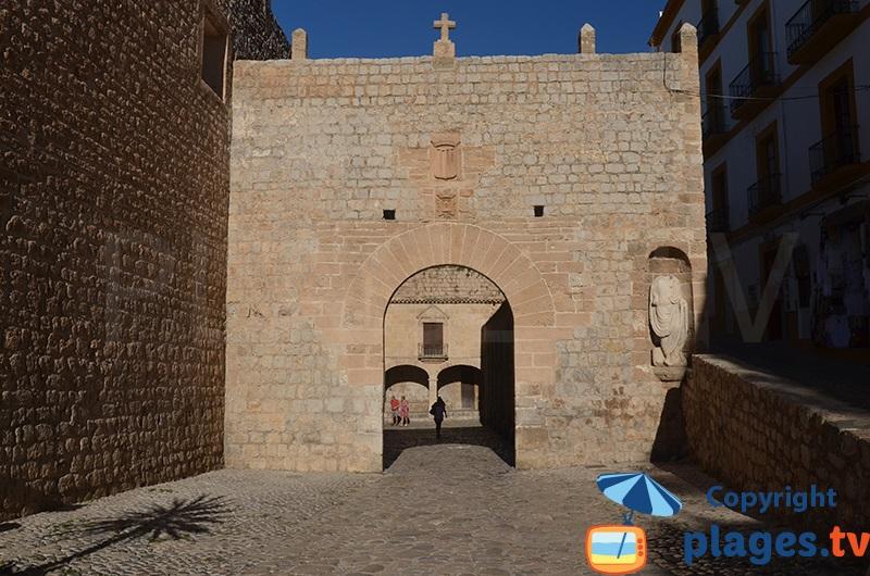 Porte de la vieille ville d'Ibiza